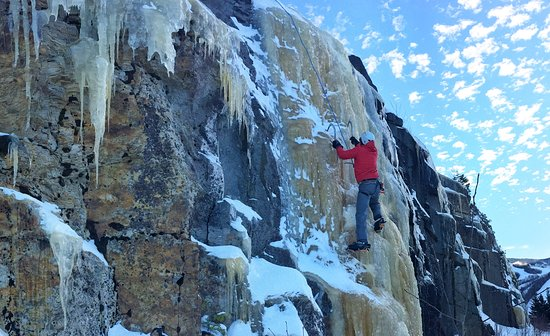 Concord, NH: Ice climbing with Mooney Mt Guides