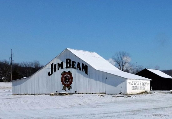 Clermont, เคนตั๊กกี้: Barn you see on your drive in