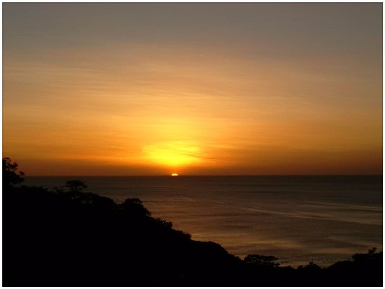 Mango Rosa Nicaragua: Beach sunset