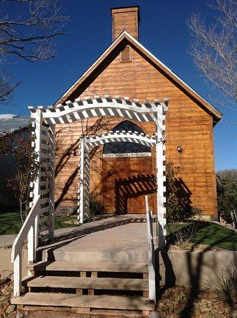 Bonnie Springs Old Nevada An Actual Wedding Chapel