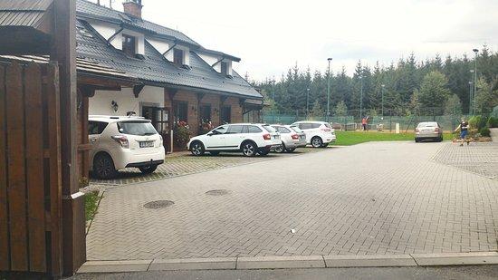 Frenstat pod Radhostem, Czech Republic: Hlavní budova s restaurací a recepcí