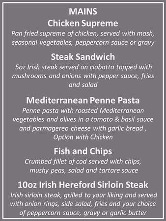 Roscommon, Ireland: Mains