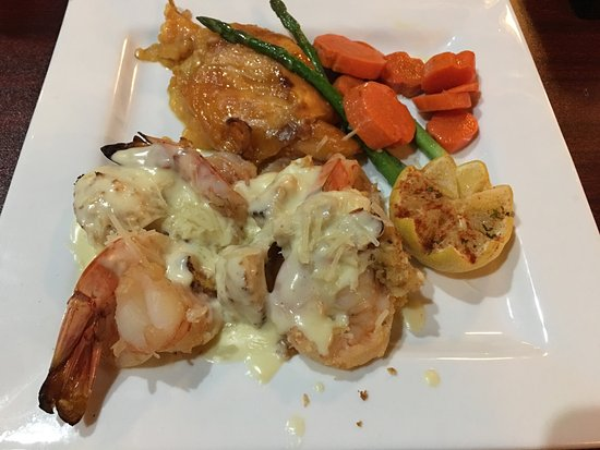 Guthrie, OK: Crab stuffed Shrimp