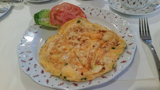 Telgte, Alemania: Feines Omelette