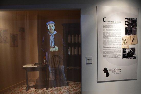 Museo Segorbinos Ilustres: Holograma