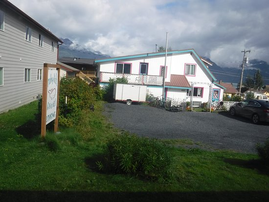 Moby Dick Hostel & Lodging: Street View, Moby Dick Hostel, Seward, AK