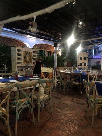 La Cruz de Huanacaxtle, Meksyk: eating area