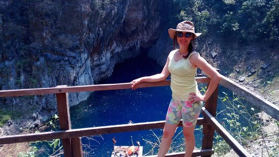 Agua Milagrosa lagoon (Dolina): Descida com esforço moderado até a lagoa.