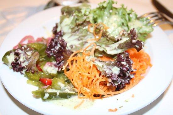 Gasthaus Rossle - Zell am Harmersbach - Allemagne - salade offerte