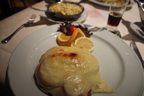 Gasthaus Rossle - Zell am Harmersbach - Allemagne - Escalope de porc