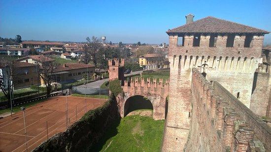 Soncino, Italia: vista da torre