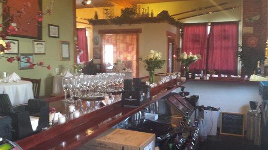 Fairplay, CO: bar set for a wedding