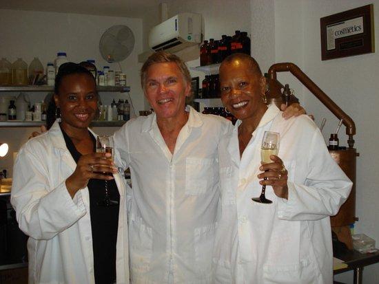 Grand-Case, St. Martin/St. Maarten: Champagne Toast