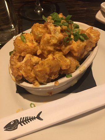 Brentwood, MO: Bang Bang Shrimp - this could even be a meal for two if you just wanted to have a drink and a bi