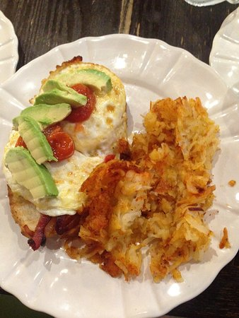League City, TX: BERTA breakfast sandwich
