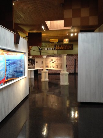 Ybor City State Museum Section Of Interior