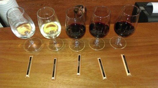 Constantia, South Africa: Wine & chocolate range