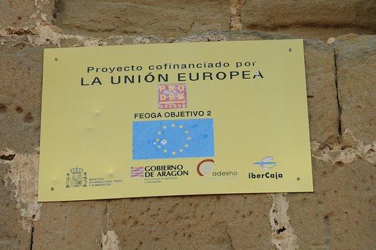 Quicena, España: Projeto financiado pela Uniao Europeia