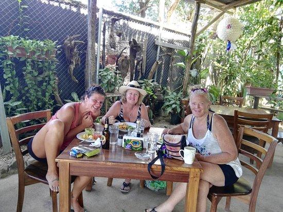 Brasilito, Costa Rica: cafe del manglar