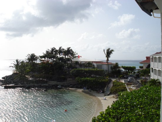 Grand Case Beach Club: View from my loft bedroom