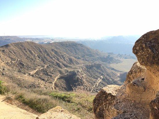 Quicena, España: Não parece mas, é muito alto mesmo !