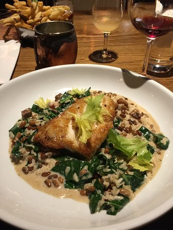 Burwell's Stone Fire Grill: fish special