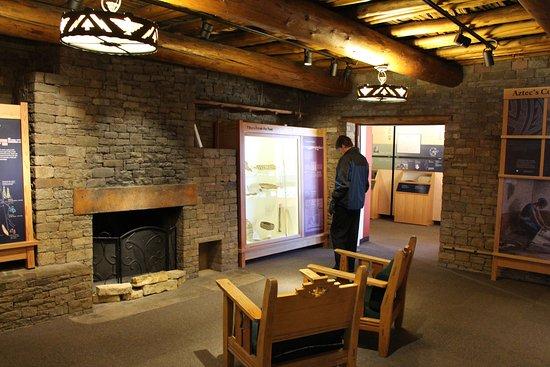 Aztec, NM: Cozy Visitors' Center