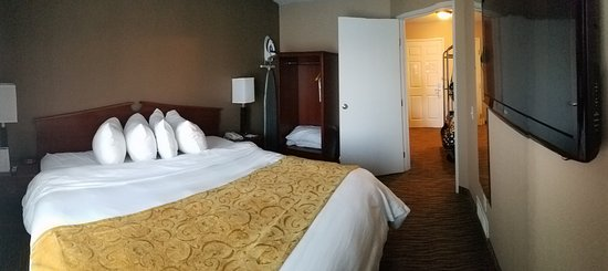 โอแคลร์, วิสคอนซิน: Jacuzzi king suite