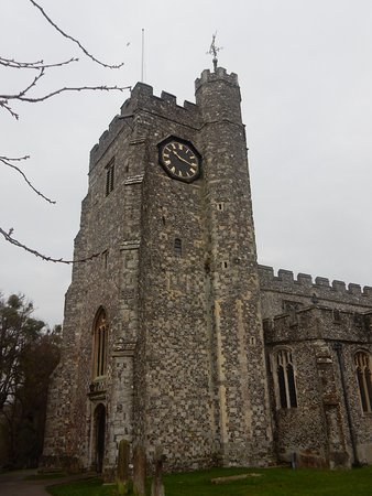 Chilham, UK: The 68 foot Clock Tower