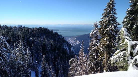 North Vancouver, Kanada: View from the Grind