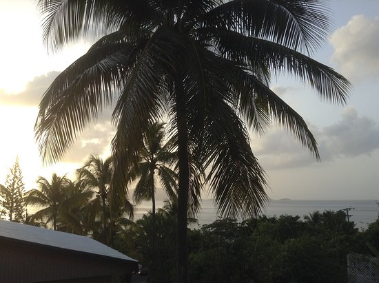 Sugar Mill Hotel: view from balcony