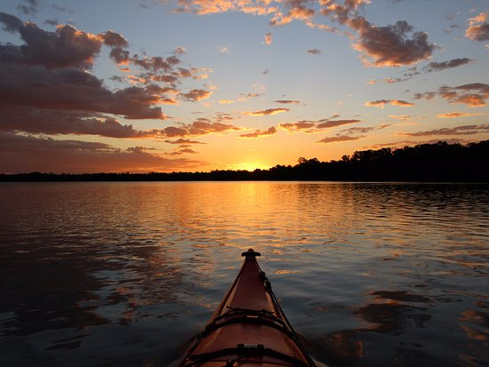 Ballina Kayaks sunset