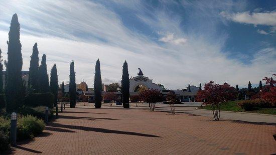Parque Warner: Entrada do parque
