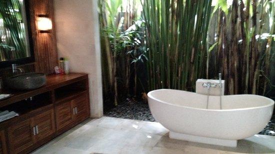 Superbe Ubud Virgin Villa: Jungle Bathroom