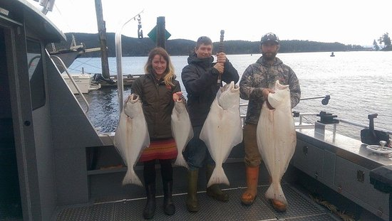 Sooke, Kanada: limit of Halibut