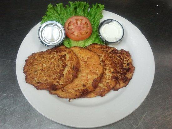 Tinley Park, IL: Potato Pancakes!