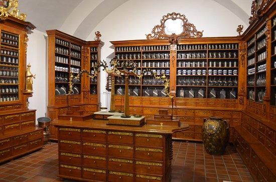 เบอร์โน, สาธารณรัฐเช็ก: L'antica farmacia