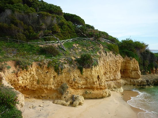 Praia da Falesia (Steilküstenstrand): plage