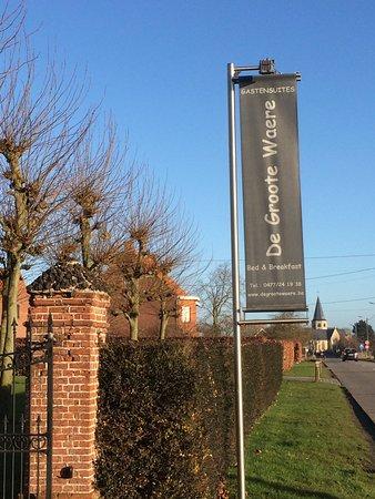Diksmuide, Belgium: Entrance to the B&B