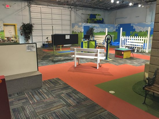 Discovery Science Place: Our newly renovated Maker Park area in Hometown