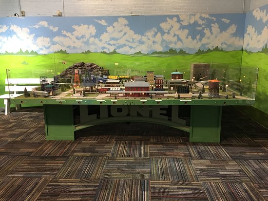 Discovery Science Place: Our new DSP Train Set