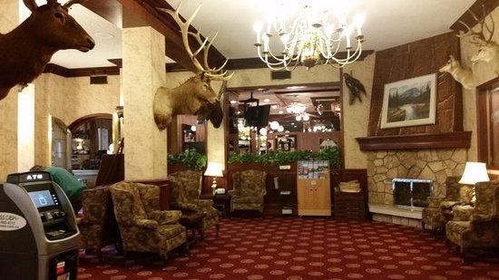Athabasca Hotel: Área de visita - recepção.
