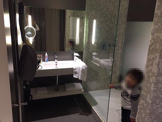 Barcelo Hamburg Js 520 Bathroom And Walk In Rainforest Shower