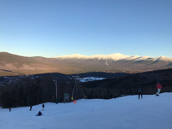 Bretton Woods, NH: Views from near the top and the base area. My Washington in the distance.