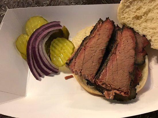 ฮิลส์โบโร, เท็กซัส: Brisket Sandwich