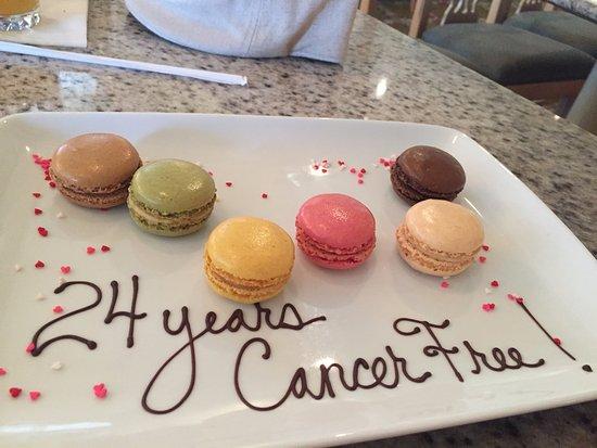 Grand Floridian Cafe: Our milestone celebration