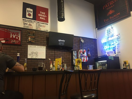 View of the bar area, The Cantina, Norris, TN 37828