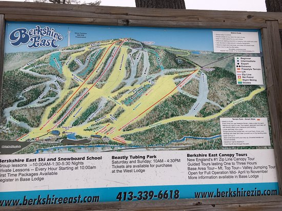 Charlemont, MA: Berkshire East Ski Resort