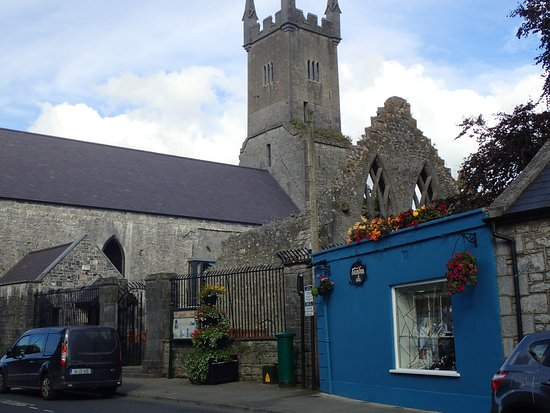 Ennis Friary from Abbey Street