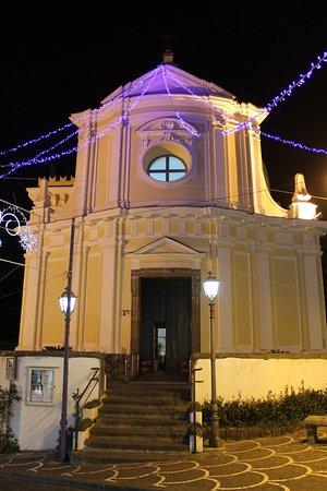 Ischia Porto, Italia: Facciata Chiesa Santa Maria delle Grazie in San Pietro